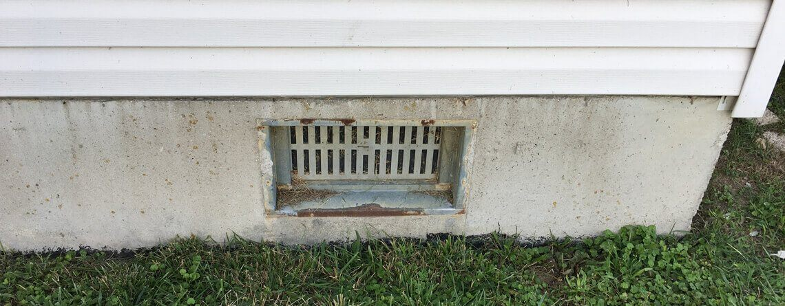 Crawl Space Vent Cover Missing | Replacement | SouthernDry of Alabama