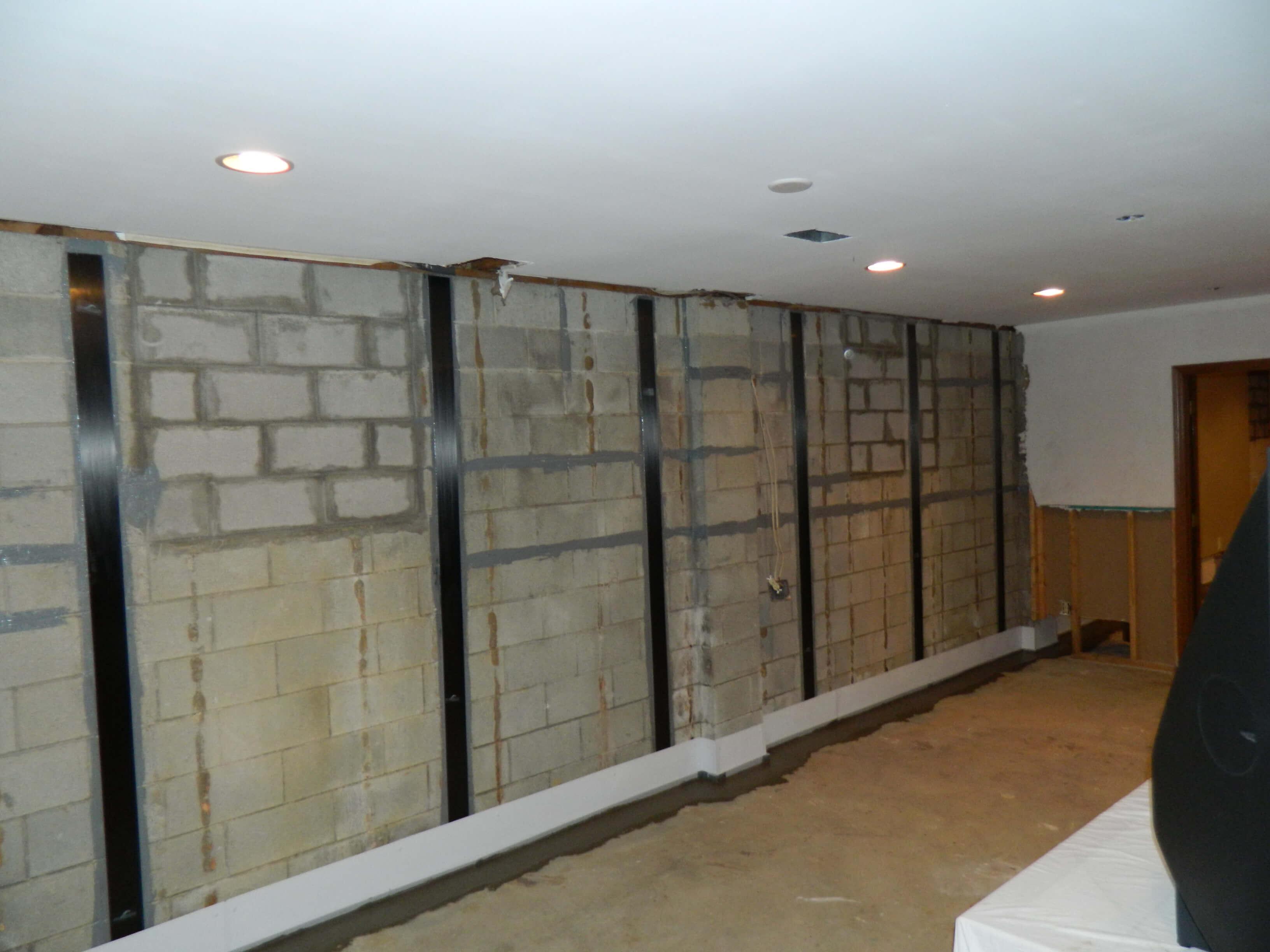 carbon fiber basement waterproofing