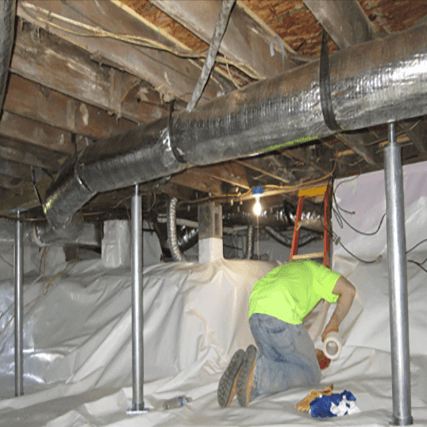 Crawl Space Stabilization