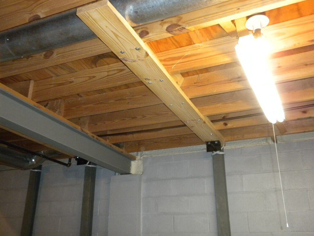 Force Bracket I-Beam Basement Wall Repair | SouthernDry of Alabama
