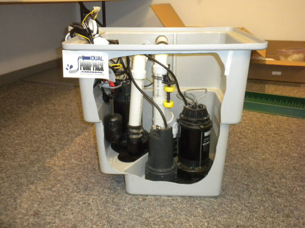 Square Sump Pump Basin Dual Pack