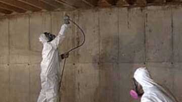 Basement & Crawl Space Mold Clean Up